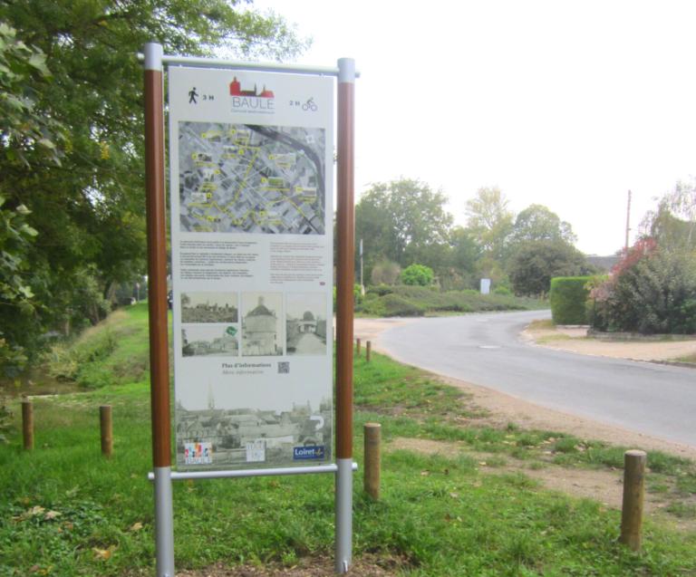 Un circuit patrimonial pour découvrir le village de Baule