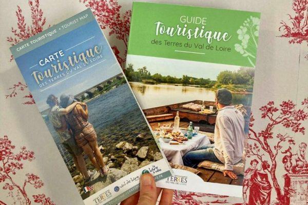 De nouvelles brochures touristiques pour la destination Terres du Val de Loire
