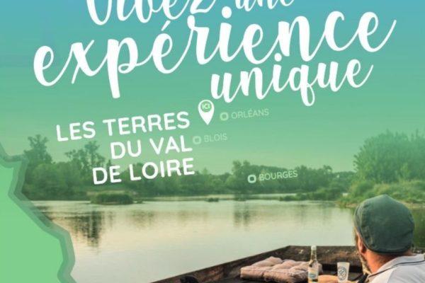 La destination Terres du Val de Loire s'affiche en région Centre !